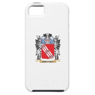 Escudo de armas de la castaña - escudo de la iPhone 5 carcasa