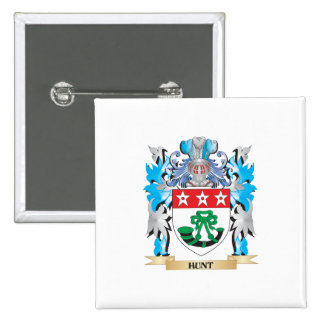 Escudo de armas de la caza - escudo de la familia pin