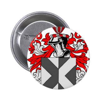 Escudo de armas de la caza pins