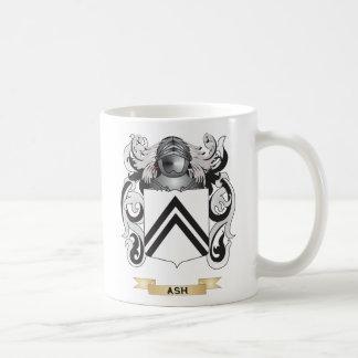 Escudo de armas de la ceniza (escudo de la familia taza