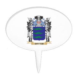 Escudo de armas de la chaveta - escudo de la decoraciones para tartas