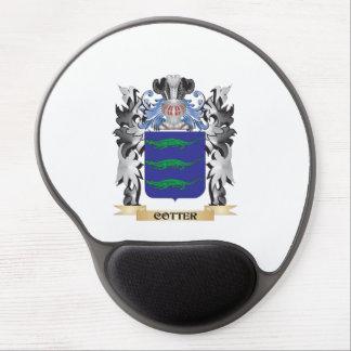Escudo de armas de la chaveta - escudo de la alfombrilla de ratón con gel