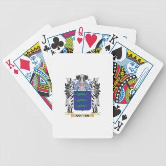 Escudo de armas de la chaveta - escudo de la barajas de cartas