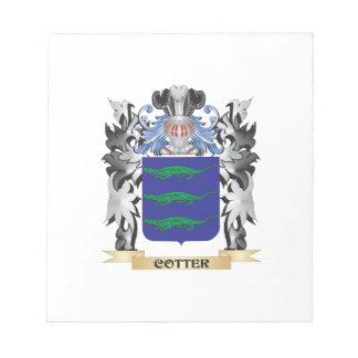 Escudo de armas de la chaveta - escudo de la blocs