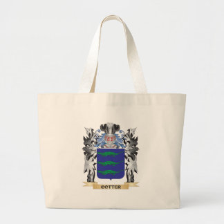 Escudo de armas de la chaveta - escudo de la bolsa tela grande