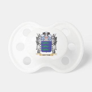 Escudo de armas de la chaveta - escudo de la chupete de bebe