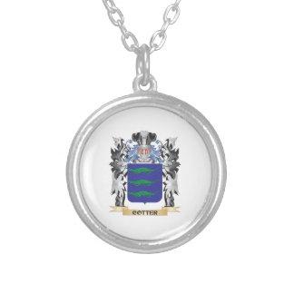 Escudo de armas de la chaveta - escudo de la colgante redondo