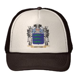 Escudo de armas de la chaveta - escudo de la gorros