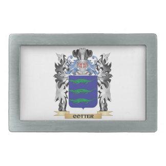 Escudo de armas de la chaveta - escudo de la hebillas cinturon rectangulares