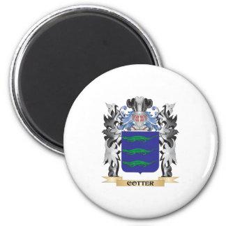 Escudo de armas de la chaveta - escudo de la imán redondo 5 cm