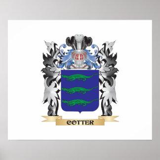 Escudo de armas de la chaveta - escudo de la póster