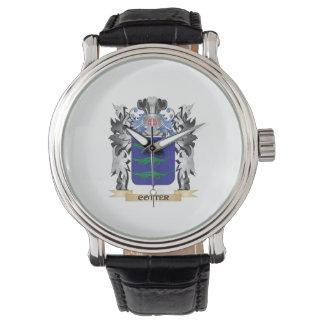 Escudo de armas de la chaveta - escudo de la relojes