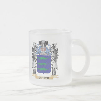 Escudo de armas de la chaveta - escudo de la taza cristal mate