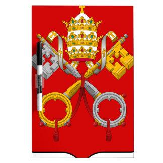 Escudo de armas de la Ciudad del Vaticano Pizarra