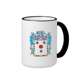 Escudo de armas de la col com n - escudo de la tazas de café