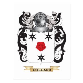 Escudo de armas de la col com n postales