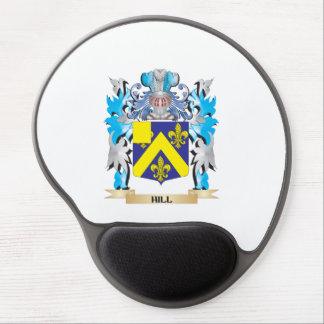 Escudo de armas de la colina - escudo de la alfombrilla gel