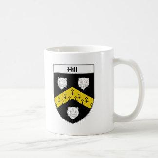 Escudo de armas de la colina/escudo de la familia taza clásica