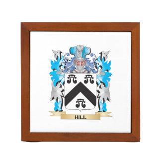 Escudo de armas de la colina - escudo de la