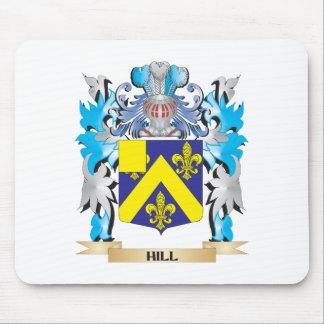 Escudo de armas de la colina - escudo de la alfombrilla de ratón