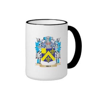 Escudo de armas de la colina - escudo de la taza a dos colores