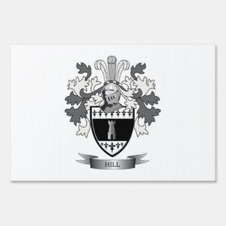 Escudo de armas de la colina señales