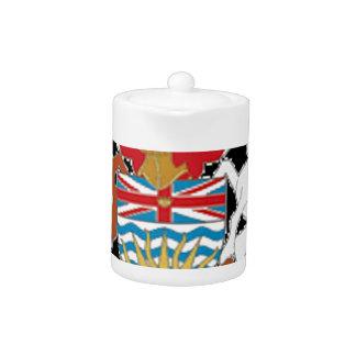 Escudo de armas de la Columbia Británica (Canadá)
