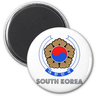 Escudo de armas de la Corea del Sur Imán Para Frigorífico