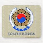 Escudo de armas de la Corea del Sur Alfombrilla De Raton