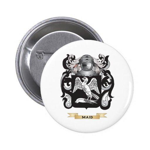 Escudo de armas de la criada (escudo de la familia pin