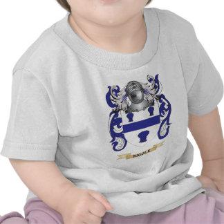 Escudo de armas de la criba escudo de la familia camiseta