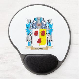 Escudo de armas de la danza - escudo de la familia alfombrilla gel