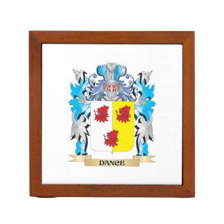 Escudo de armas de la danza - escudo de la familia