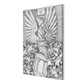 Escudo de armas de la familia de Durer Impresión En Lienzo Estirada