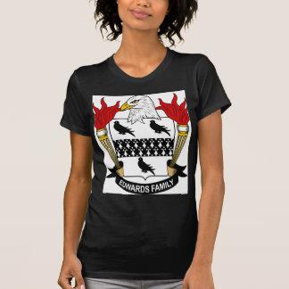 Escudo de armas de la familia de Edwards Camisetas