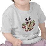 Escudo de armas de la familia de Kittinger (escudo Camiseta
