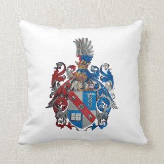 Escudo de armas de la familia de Ludwig von Mises Cojín