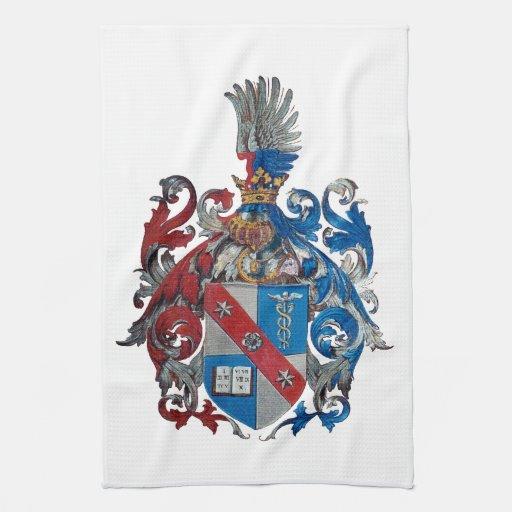 Escudo de armas de la familia de Ludwig von Mises Toalla