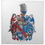 Escudo de armas de la familia de Ludwig von Mises Servilletas Imprimidas
