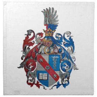 Escudo de armas de la familia de Ludwig von Mises Servilletas De Papel