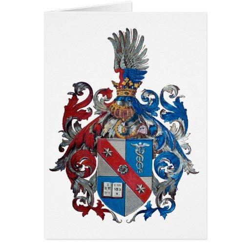 Escudo de armas de la familia de Ludwig von Mises Tarjeta De Felicitación