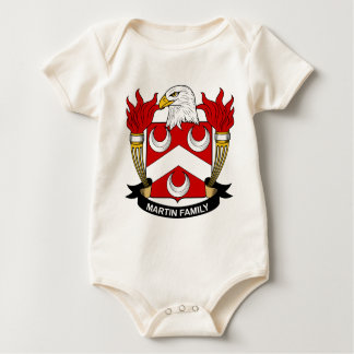 Escudo de armas de la familia de Martin Body De Bebé