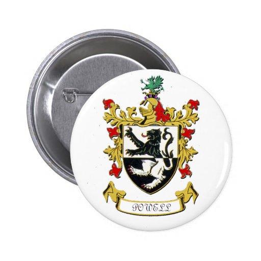 Escudo de armas de la familia de Powell Pin