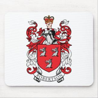 Escudo de armas de la familia de Robertson Alfombrilla De Ratón