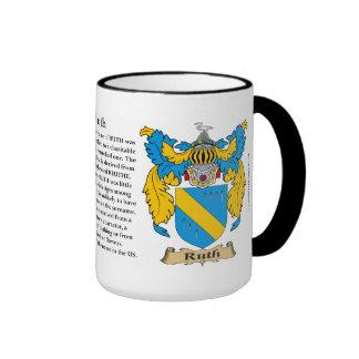 Escudo de armas de la familia de Ruth Tazas De Café