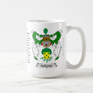 Escudo de armas de la familia de Salcedo Taza