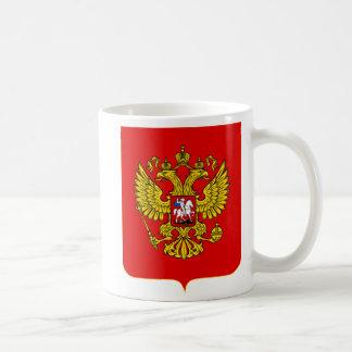 Escudo de armas de la Federación Rusa Taza