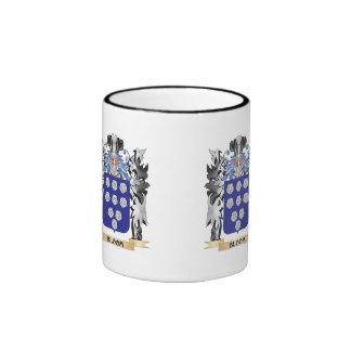 Escudo de armas de la floración - escudo de la taza a dos colores