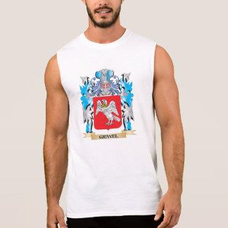 Escudo de armas de la grava - escudo de la familia camiseta sin mangas
