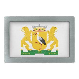 Escudo de armas de La Haya Hebilla Cinturón Rectangular